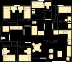 College Creek 6 Person Apartment