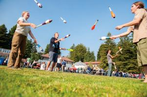 Students Juggling