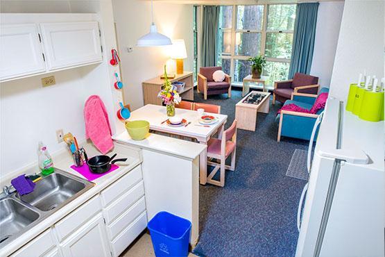 Creekview Apartments Kitchen